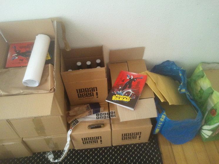 ¡Ya hemos hecho algunos envío y entregas en mano en Bilbao!