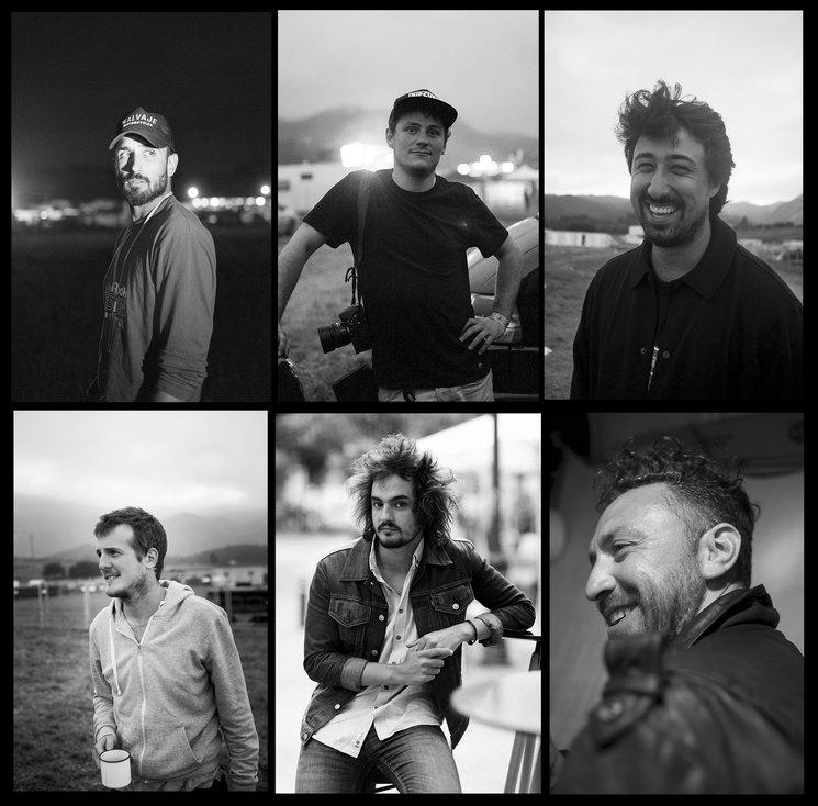 De izquierda a derecha y de arriba abajo: Javier Martínez Mansilla, Diego Sánchez, Manuel Mejías, Borja Larrondo, Aigor Baigorri y Matías Cruzat