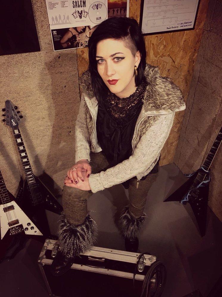 Lydia Barahona, nuestra nueva vocalista.