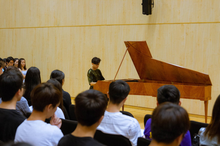 Cocert at Baptist University (Hong Kong)