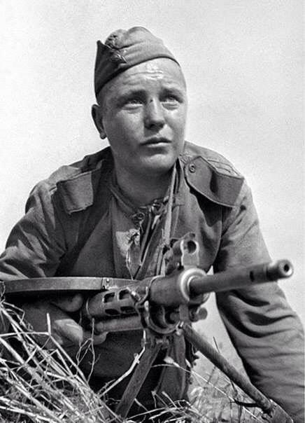 Soldado de Ejército Rojo.