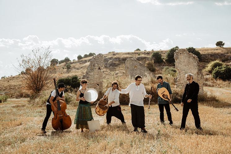 Carlos Soto folk Quintet. FOTO: Samuel Gómez