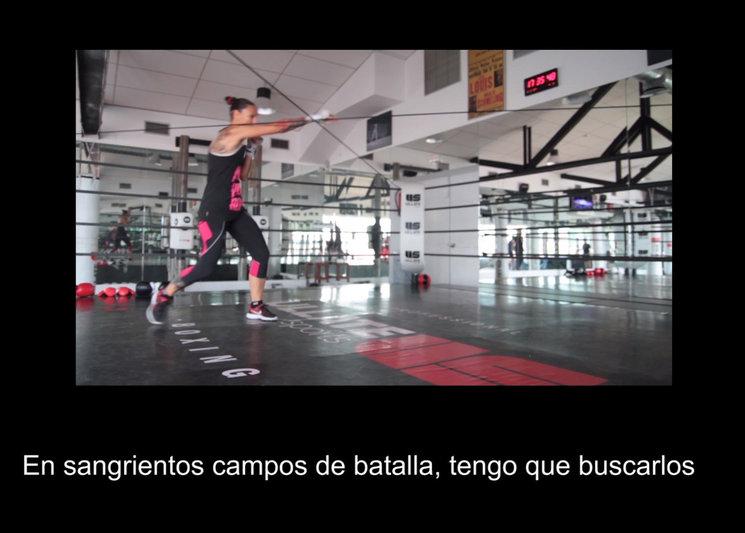 Amazonomaquia 1.3. Video en loop,12 min.