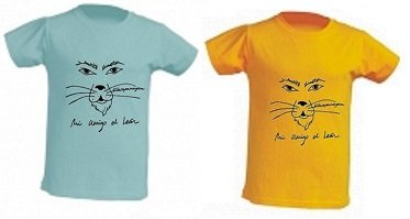 camisetas 100% algodon