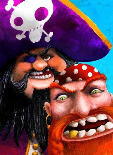 ¡Piratas a estribor!