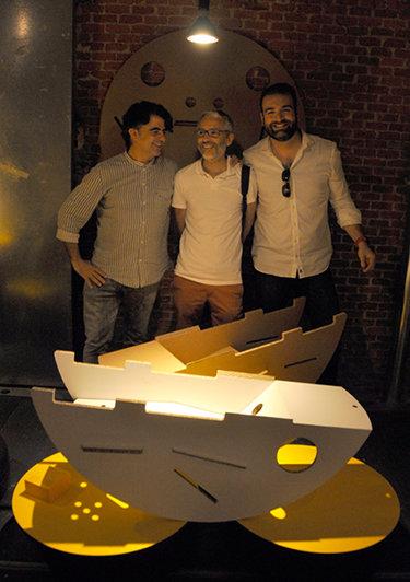 Con Sebastien y José Manuel en Producto Fresco 2017.