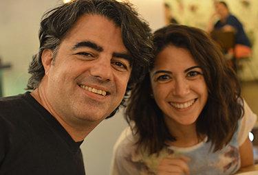 Con Marisa Gómez, la fiera del 3D.
