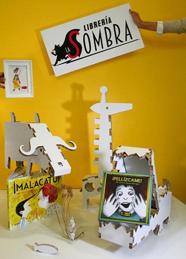 Bodegón para la inauguración de La entreplanta de la librería La Sombra.