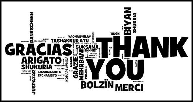 ¡Gracias a todo el MUNDO!
