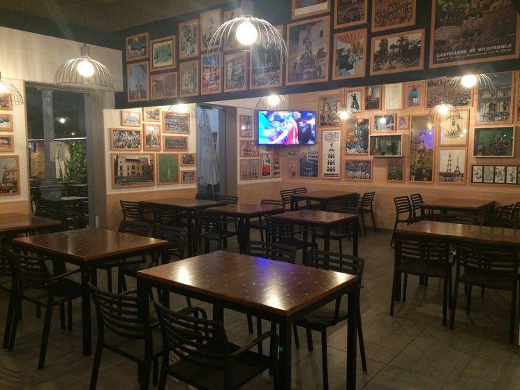 Remodelat restaurant de Cal Figarot