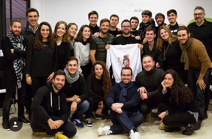 Alfonso Casado visita a RED teatro musical