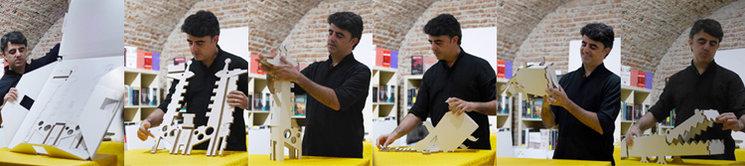 """Lanzamiento de la campaña de Verkami """"Nimales, fieras de cartón de una pieza"""", en la Librería La Sombra (fotografías de @luistsanz)."""