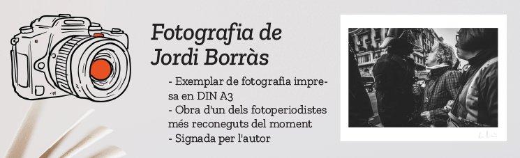 Per tenir a casa un tros de la història del país i de la feina de Jordi Borràs.