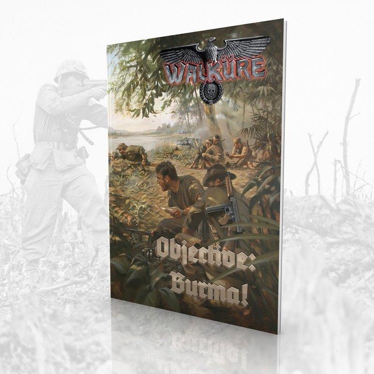 Portada de Objective: Burma!