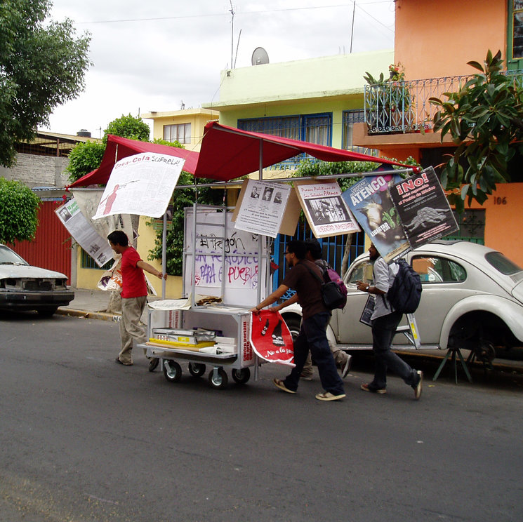 Centro Portátil de Arte Contemporáneo del Antimuseo<br/> Ciudad de México 2008-2009