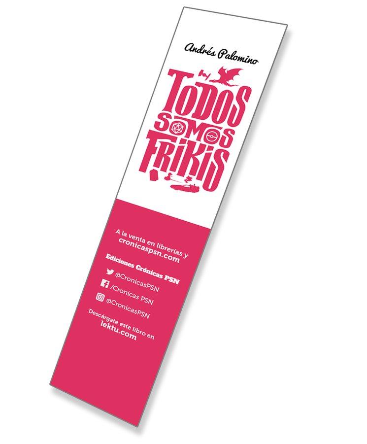 Punto de libro de TODOS SOMOS FRIKIS