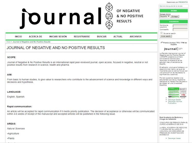 Página web JONNPR