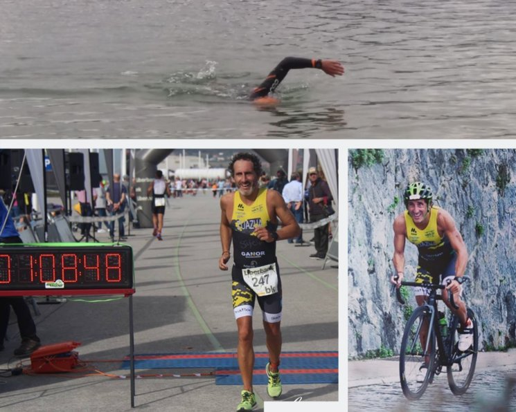 Pedro López Zuazua, our favorite triathlete in i4life