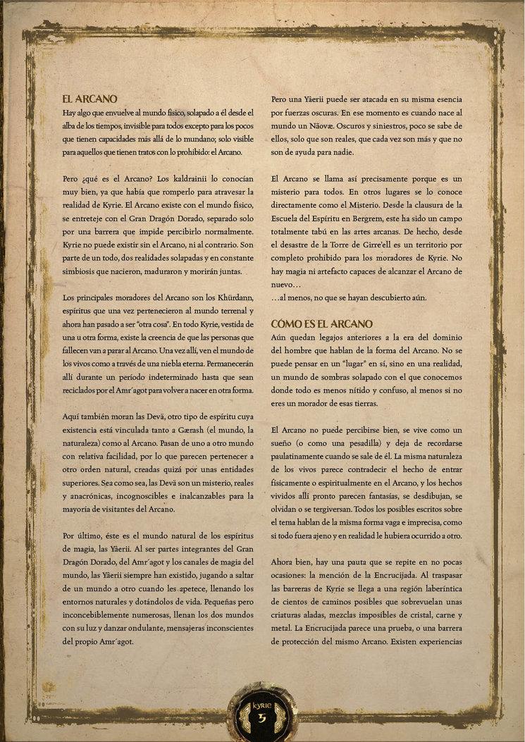Video presentación manual del jugador.