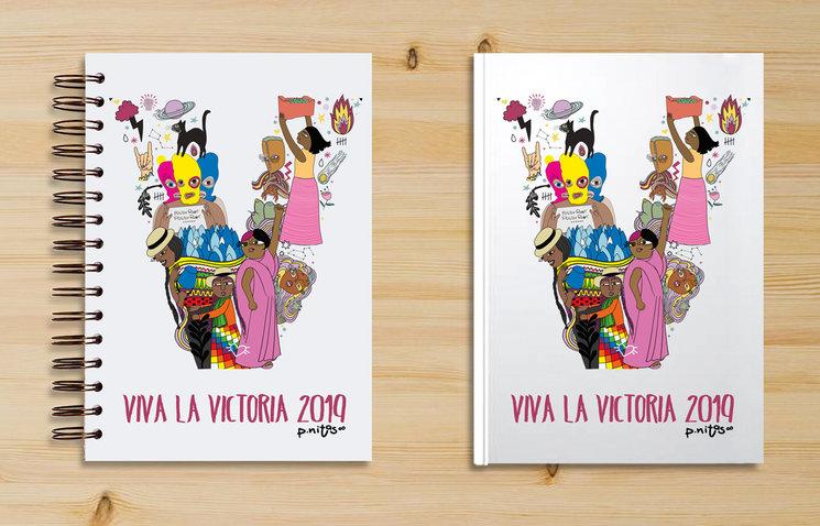 Prototipo Agendas. Viva la Victoria 2019