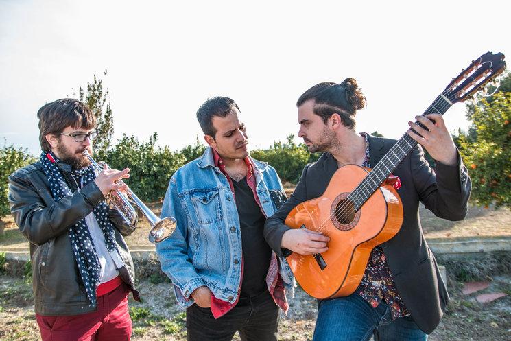 """Antonio Peñalver, Juanmi Martínez y Joaquín López """"Quini"""""""