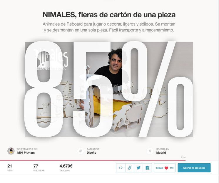 A mitad del crowdfunding estamos al 85% de cumplir el objetivo