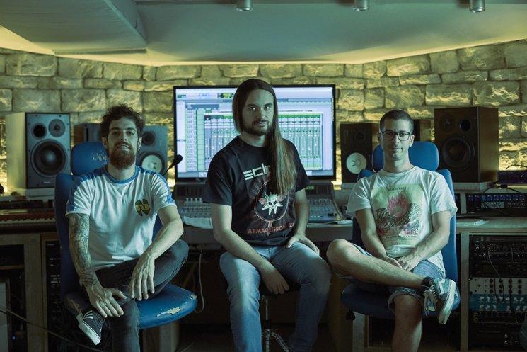Abel Sequera, Carles Salse y Sebastian Sendon en Sureau Studio