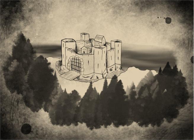Fortaleza del acantilado (parte de una aventura de iniciación)
