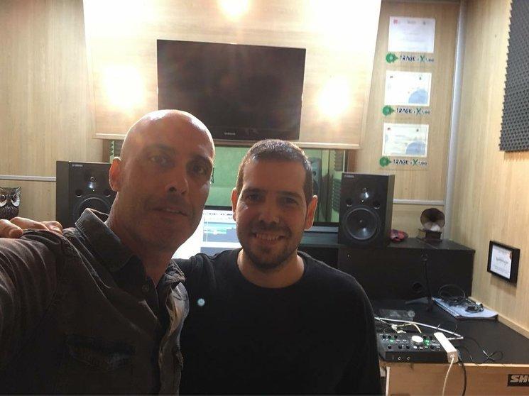 Primer día de grabación con Raúl Velasco en TrackExtudio