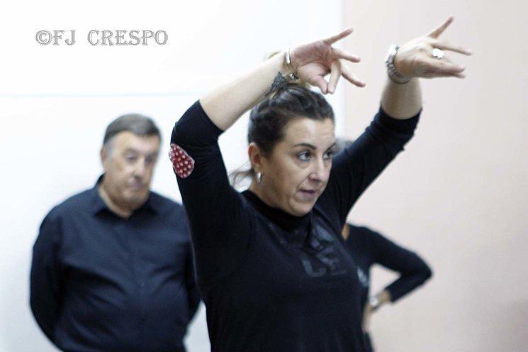 Esta es Estefania Muñoz (Fani) la profesora encargada del taller de Baile por Bulerías