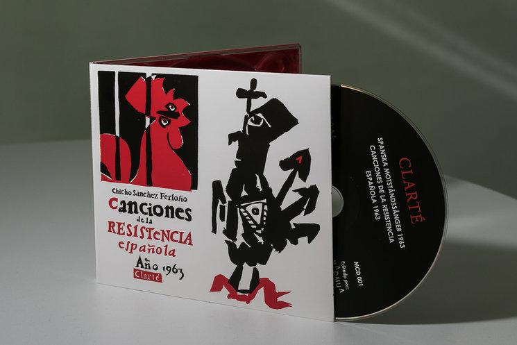 El disco en formato cedé digipack.