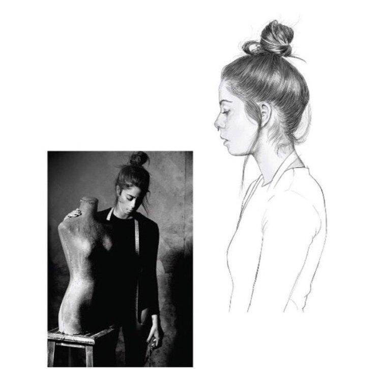 Lourdes Verdugo | Proyecto Meraki de Rubén Suárez (Fotógrafo) y Daniel Ramos (Ilustrador)