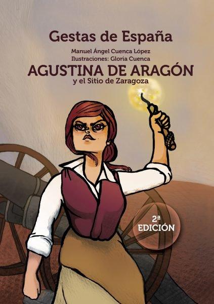 Cubierta Agustina de Aragón y el Sitio de Zaragoza