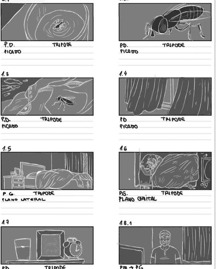 Storyboard primera secuencia