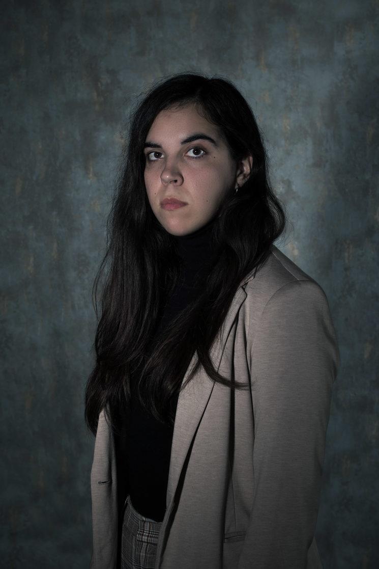 Maria, nuestra Ayudante de Dirección e Ilustradora