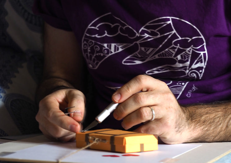 En proceso, creación láminas