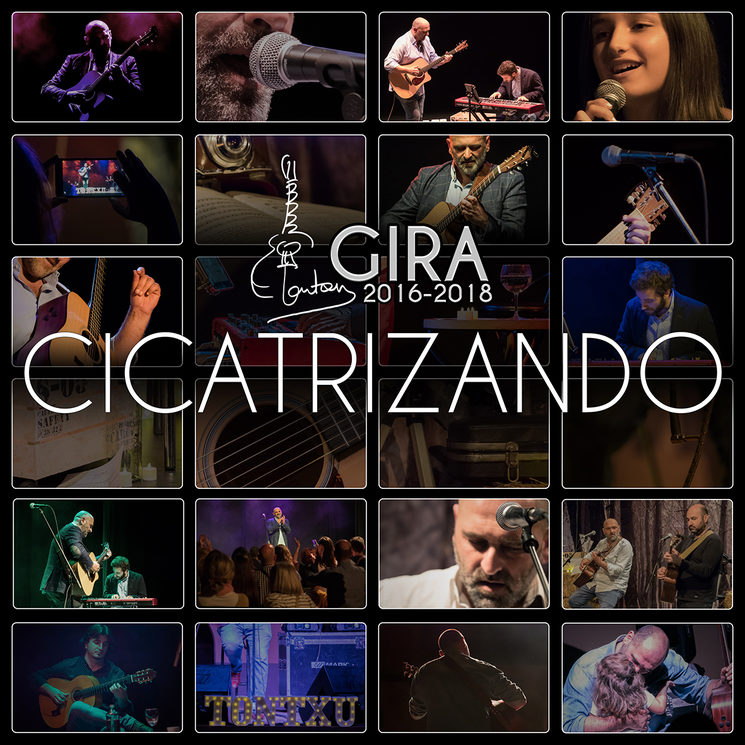"""Portada disco """"Gira Cicatrizando 2016-2018"""""""