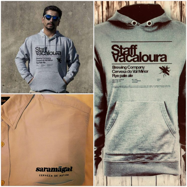 Sudadera Staff Vacaloura o Camisa Saramagal