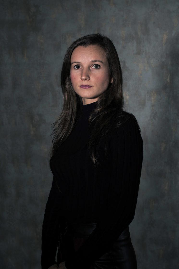 Nuria, nuestra ayudante de fotografia y Postproducción