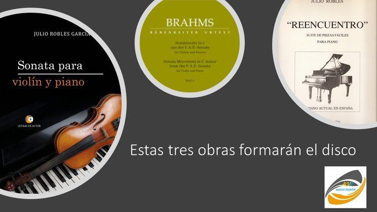 Primer disco de Arturo Grossi y Martín De Aldecoa