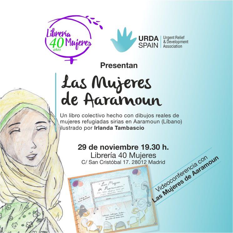 """Presentación oficial de """"Las mujeres de Aaramoun"""""""
