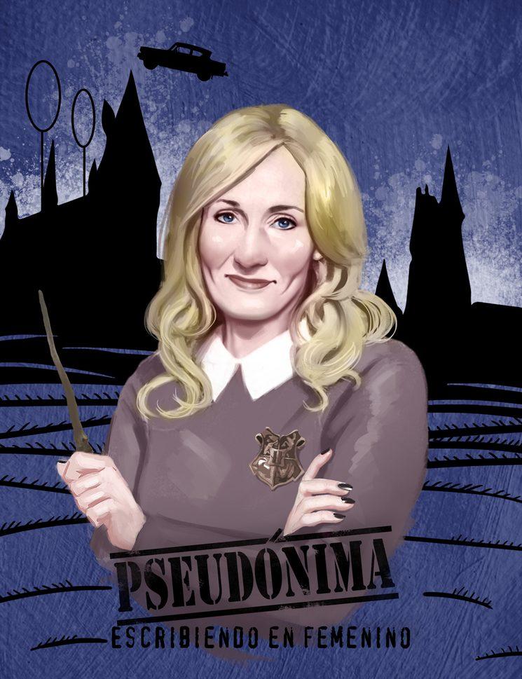Cómo J.K Rowling creó un maravilloso mundo que pudo no existir