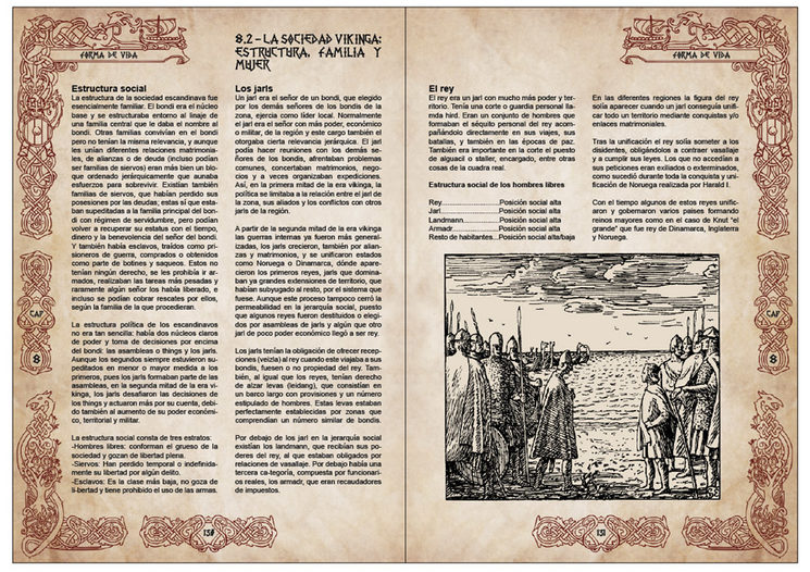 Pliego de vikingos del Capítulo 8 - Forma de Vida