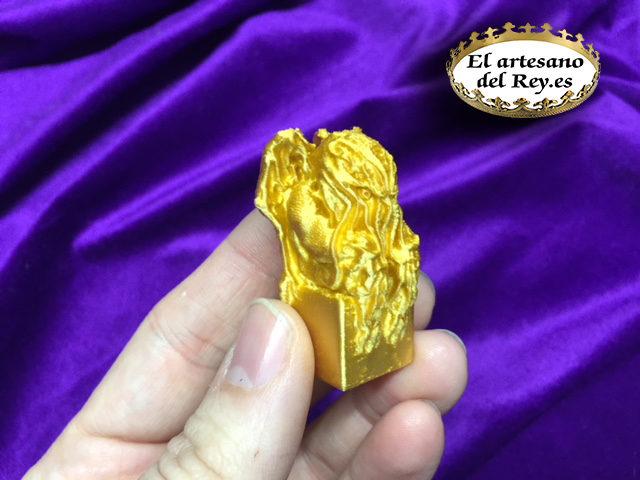 Idolo de oro del Gran Cthulhu!!!!