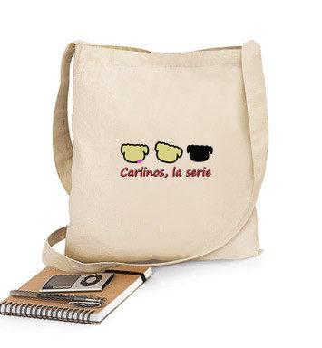 Bolsa de tela de Carlinos la serie