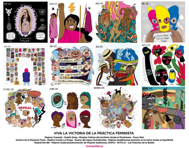 12 Victorias colectivas de la práctica feminista | Viva la Victoria 2