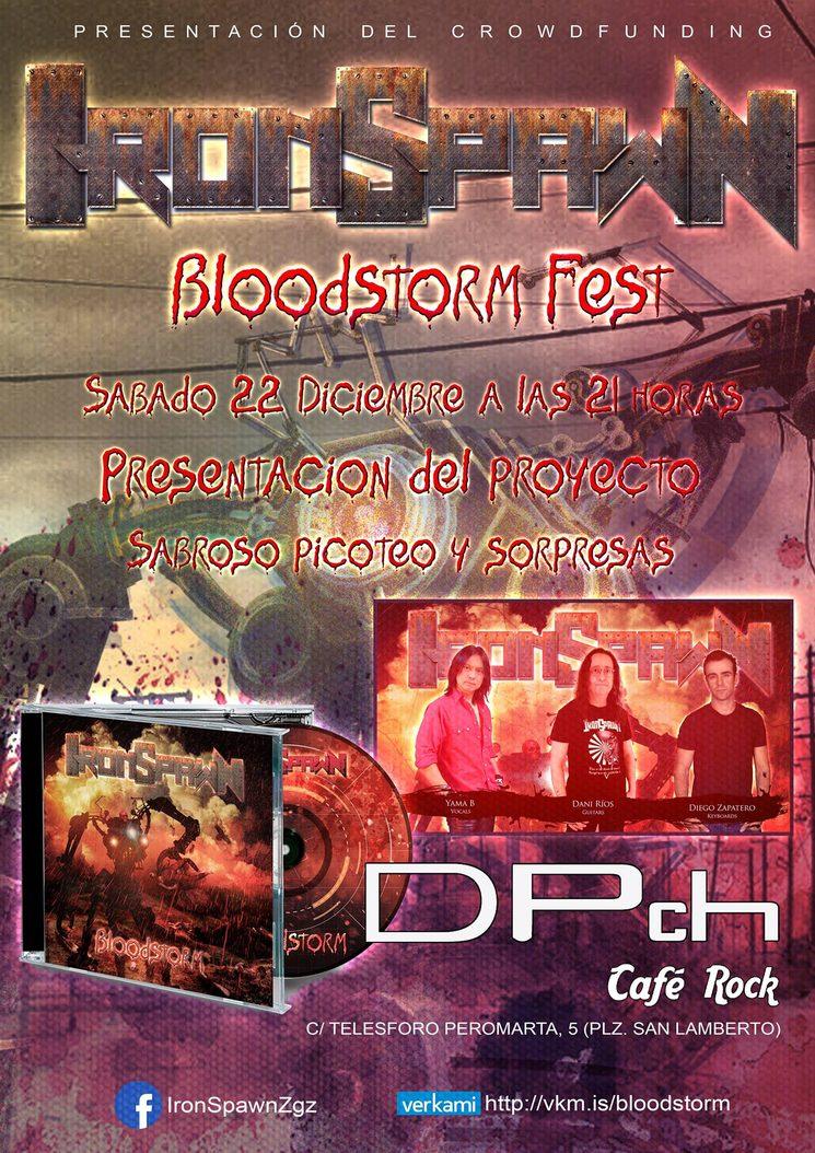 Presentación 22 de diciembre en Café DPch Rock