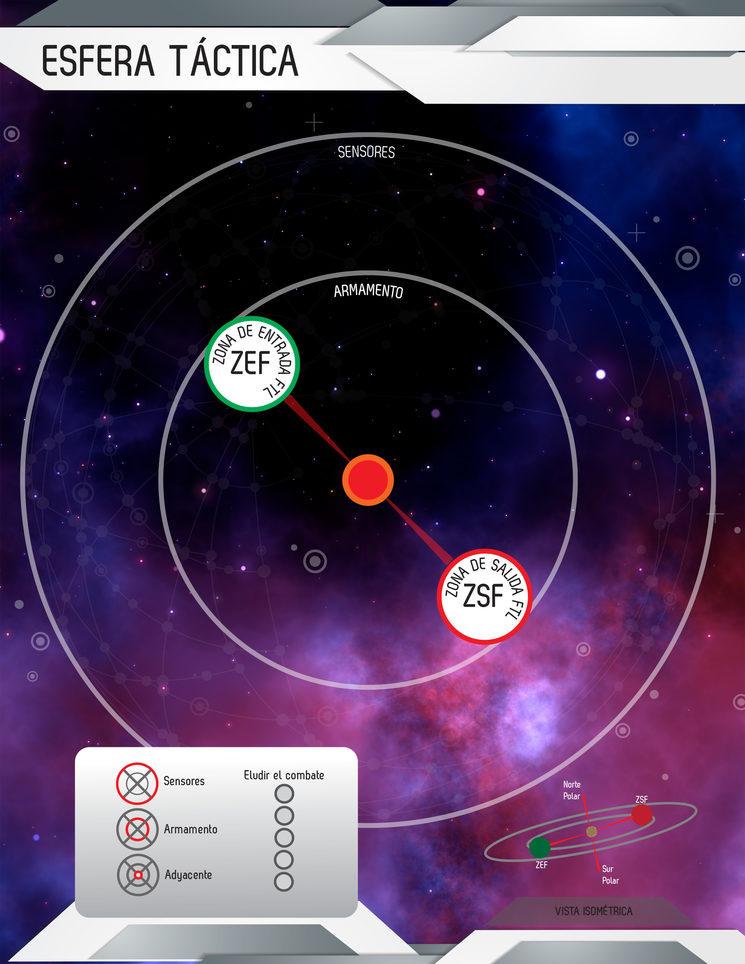 La esfera táctica (puede sufrir variaciones leves)