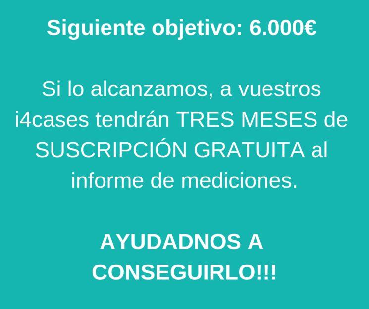 A POR EL SIGUIENTE OBJETIVO: 6000€