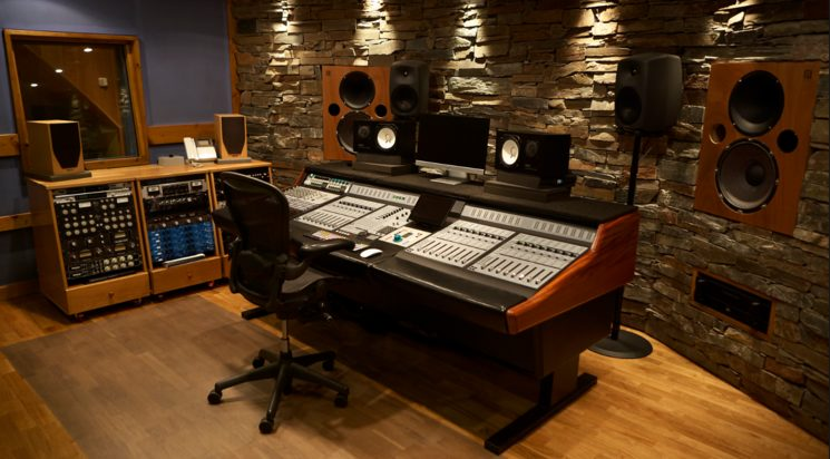"""Estudio Sonobox donde se grabará """"Destino Pura Vida"""""""